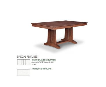Item HSPI-P-BR4272-S - Wood Furniture Oakville by Parsons Interiors Ltd.