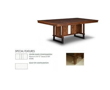 Item HSPI-P-CU4884-S - Custom Dining Tables Oakville by Parsons Interiors Ltd.