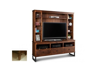 Item HSPI-P-CUHD74H - Living Room and Media Cabinets Oakville by Parsons Interiors Ltd.