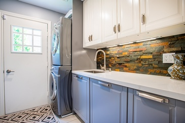 Laundry Room - Custom Home Decor in Oakville ON by Parsons Interiors Ltd.