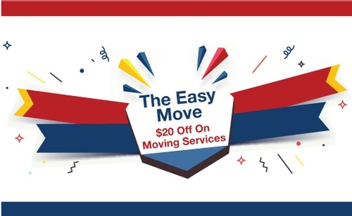 $20 Off On Moving Services At The Easy Move