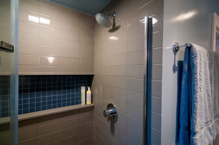 Shower Room in Algonquin Island Home