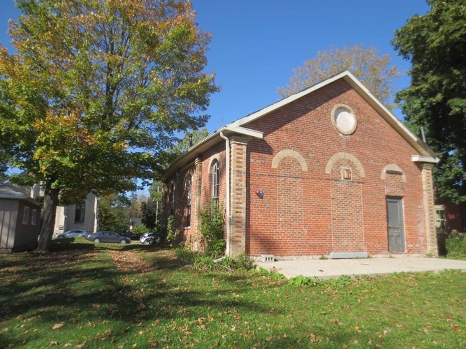 Restoration & Adaptive Re-use of the 1863 Baptist Church in Elora