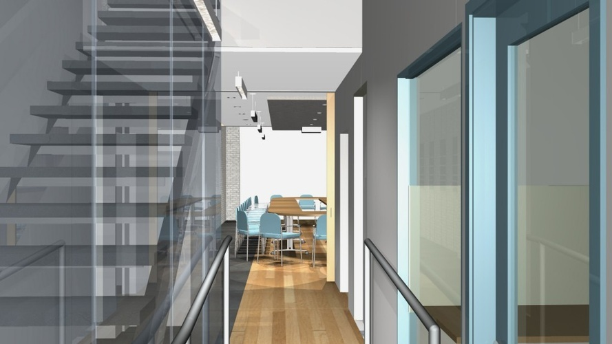 Commercial Office Plan by The Architect Builders Collaborative Inc