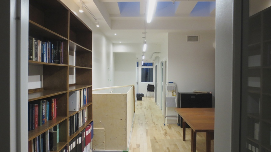 Office Library Design by Green Architects & Designers at The Architect Builders Collaborative Inc