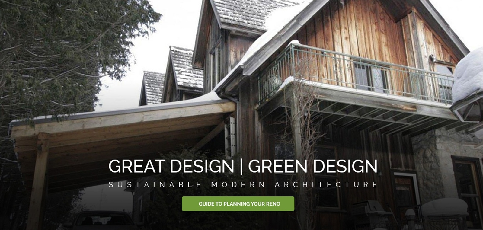 sustainable design Toronto