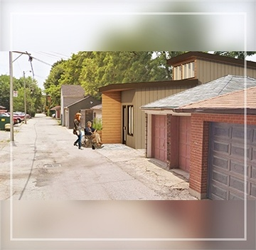 Laneway Housing by The Architect Builders Collaborative Inc. in Toronto