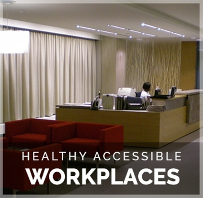 Healthy Accessible Workspaces by The Architect Builders Collaborative Inc.