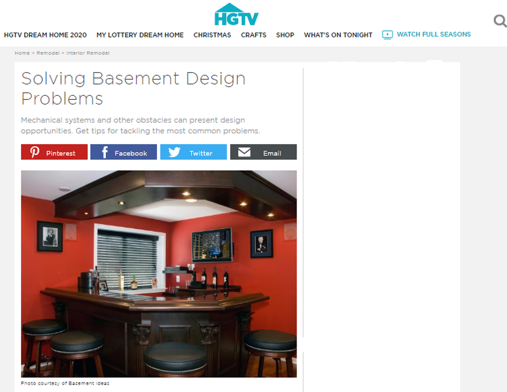 Solving Basement Design Problems   HGTV.png