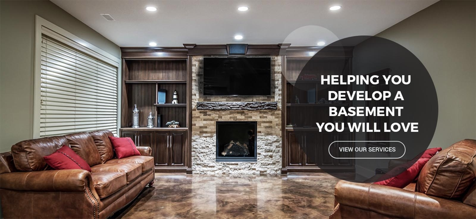 Our Services - Helping You Develop a Basement You will Love