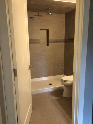 Basement Bathroom Renovation by Calgary Basement Renovation Company