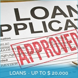 Loans - Up to $20,000