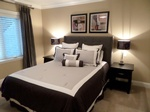 Stylish Bedroom design by Residential Interior Designer Port Coquitlam - Monica Rose Designs