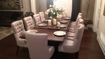 Dining Room Furniture at ViVi Upholstery - Custom Upholstery North York