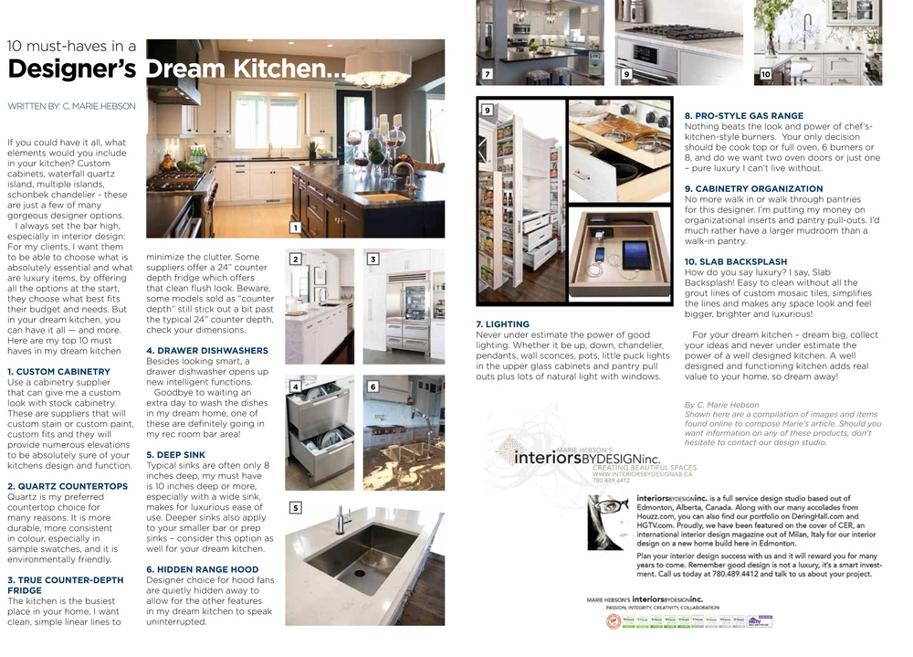 Blog by Marie Hebson | Interior Decorator in Edmonton