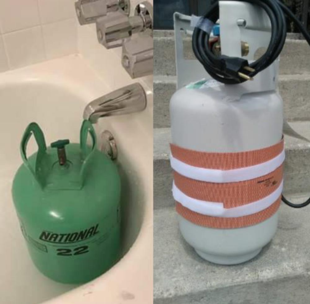 Raising Refrigerant Tank Pressure