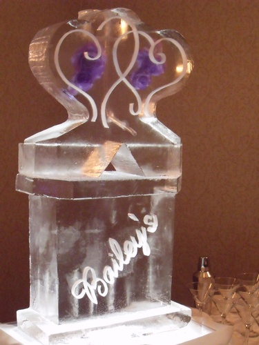 Wedding Ice Sculptures London Ontario by  Festive Ice Sculptures