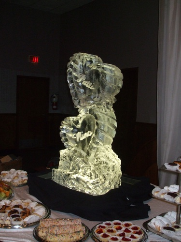 Wedding Ice Sculptures St. Catharines Ontario by  Festive Ice Sculptures