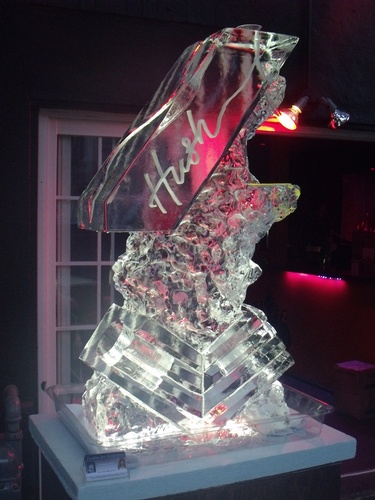 Best Ice Luge Sculpture by Festive Ice Sculptures in Windsor