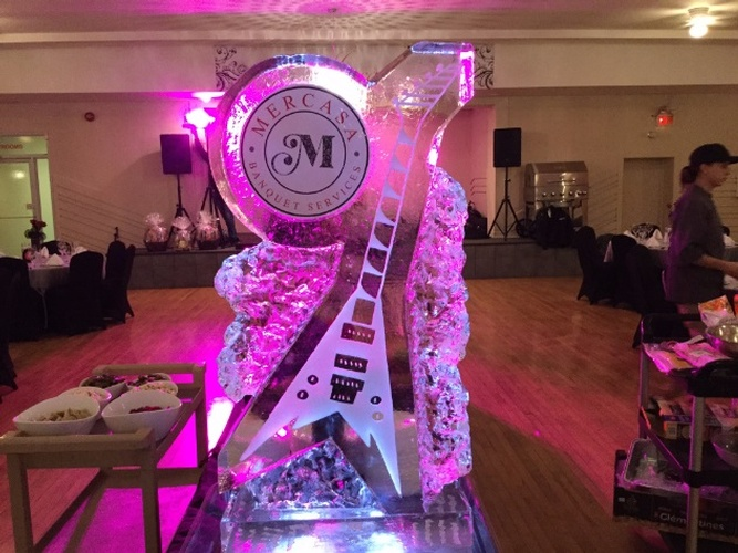 Best Corporate Ice Logos by Festive Ice Sculptures