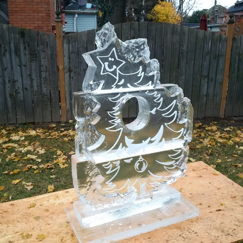 Ice Sculptor in Hamilton by Festive Ice Sculptures