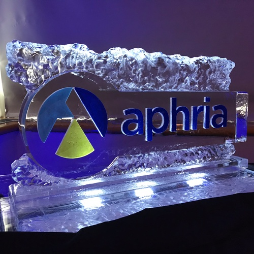Ice Logo Corporate Ice Logo Corporate Ice Sculpture Ice Sculpture London Hamilton Cambridge Oakville Windsor (9)