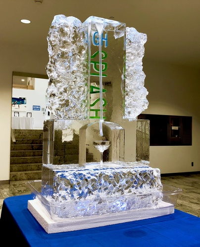 Ice Logo Corporate Ice Logo Corporate Ice Sculpture Ice Sculpture London Hamilton Cambridge Oakville Windsor (24)