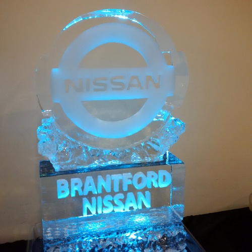 Ice Logo Corporate Ice Logo Corporate Ice Sculpture Ice Sculpture London Hamilton Cambridge Oakville Windsor (89)