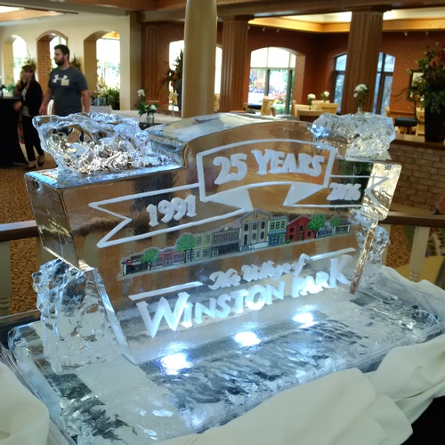 Ice Logo Corporate Ice Logo Corporate Ice Sculpture Ice Sculpture London Hamilton Cambridge Oakville Windsor (76)