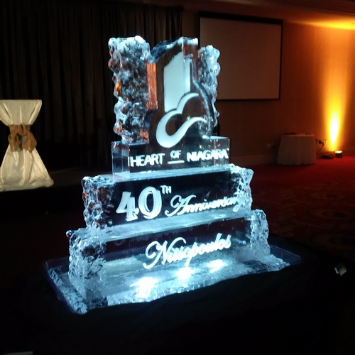 Ice Logo Corporate Ice Logo Corporate Ice Sculpture Ice Sculpture London Hamilton Cambridge Oakville Windsor (53)