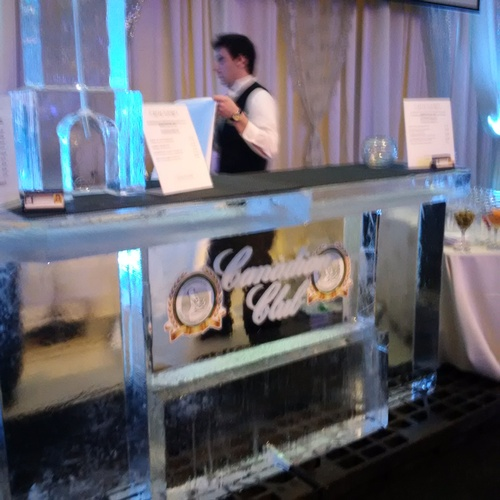 Ice Sculpture Ice Bar Ice Luge Ice Coctail Luge Ice drink server Ice Logo Luge London Hamilton Cambridge Oakville Windsor (47)