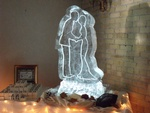 Wedding Ice Sculpture Mississauga by Festive Ice Sculptures