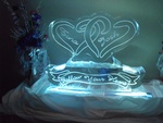 Best Table Ice Centerpiece by Festive Ice Sculptures