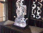 Best Ice Sculpture Table Centerpiece by Festive Ice Sculptures
