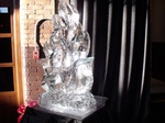 Best Wedding Ice Sculptures by Festive Ice Sculptures