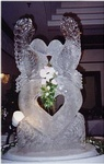 Wedding Ice Sculptures in London, Ontario by Festive Ice Sculptures