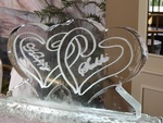 Wedding Ice Sculptures Kitchener Ontario by Festive Ice Sculptures