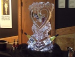 Best Ice Luge Sculpture by Festive Ice Sculptures