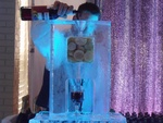 Party Ice Luge in Windsor by  Festive Ice Sculptures