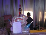 Ice Bar Sculpture Oakville Ontario  by Festive Ice Sculptures