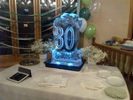 Birthday & Anniversaries Ice Sculpture by Festive Ice Sculptures