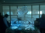 Corporate Ice Logos Cambridge Ontario by Festive Ice Sculptures
