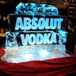 Martini Luge Cambridge by Festive Ice Sculptures