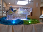 Corporate Ice Logos Sarnia by Festive Ice Sculptures