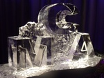 Table Centerpiece Ice Sculptures by Festive Ice Sculptures