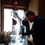 Ice Sculpture Ice Bar Ice Luge Ice Coctail Luge Ice drink server Ice Logo Luge London Hamilton Cambridge Oakville Windsor (24)