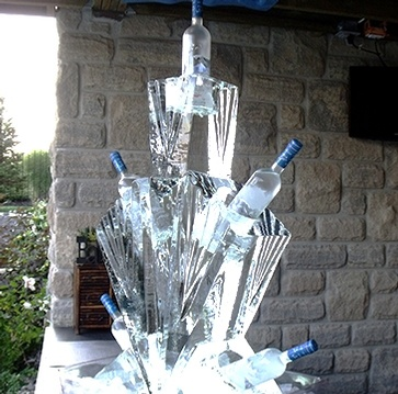 Ice Bars and Ice Luges by Festive Ice Sculptures - Southern Ontario's Premiere Ice Sculpting Company
