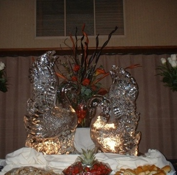 Wedding Ice Sculptures by Festive Ice Sculptures - Southern Ontario's Premiere Ice Sculpting Company