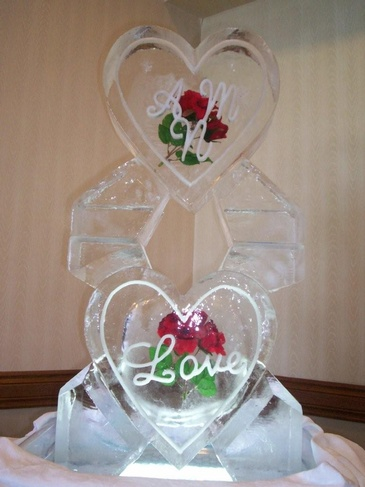 Best Wedding Ice Sculptures Cambridge by Festive Ice Sculptures