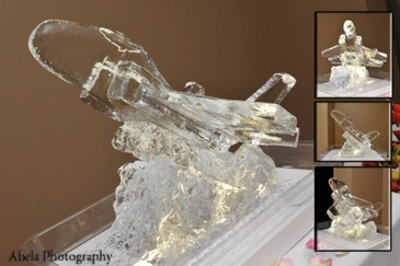 Festive Ice Sculptures - Ice Sculpture Company London